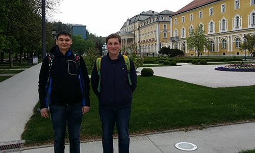 Saša Banfi in Štefan Horvat sta osvojila zlato priznanje na Državnem tekmovanju iz geografije (2015/2016)