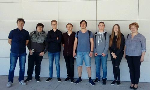 Dominik Majcen, Maruša Mataj, Vito Tivadar in Aljoša Vertot so osvojili zlato priznanje na Državnem tekmovanju iz matematike (2017/2018)