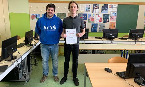 Blaž Bernjak, 2. mesto na Državnem tekmovanju ACM v izdelavi spletnih aplikacij (2018/2019)