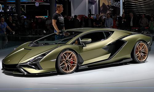 Lamborghini v vsem svojem sijaju