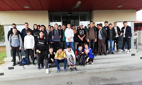 Mizarji na ekskurziji v podjetju Arcont v Gornji Radgoni