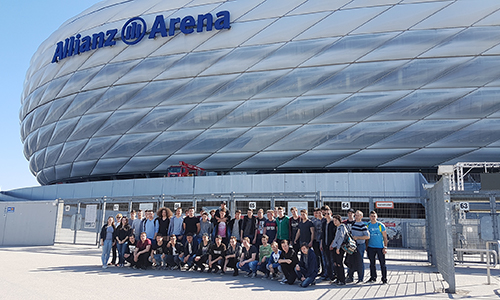 Stadion Allianz Arena v Münchnu