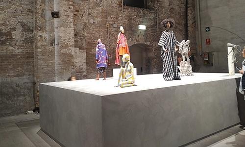 Razstava na Beneškem bienalu v Italiji