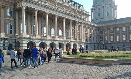 Na poti do ogleda razstav v Budimpešti