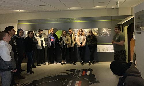 Vodeni ogled Parka vojaške zgodovine Pivka