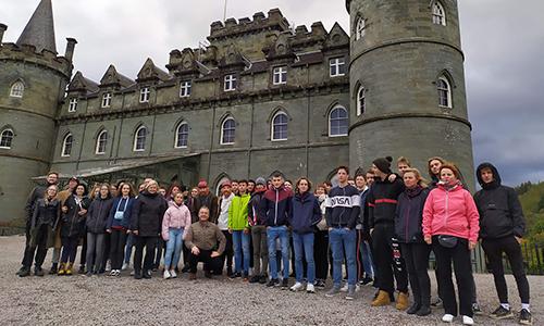 Eden najlepših škotskih gradov - dvorec Inveraray