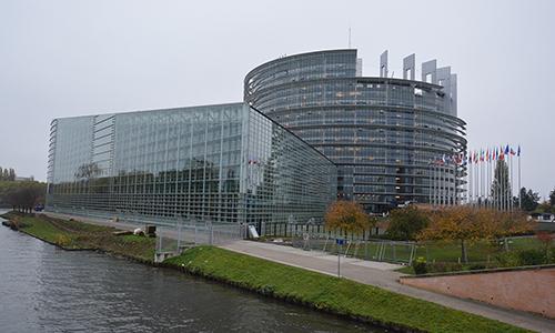 Evropski parlament v Strasbourgu