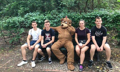 Berlin – sprostitev v parku po opravljeni praksi