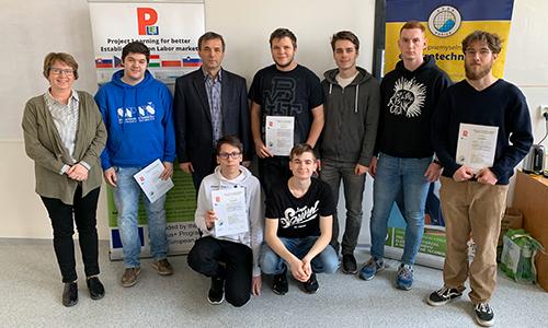 Podelitev certifikatov po opravljeni mobilnosti na Slovaškem