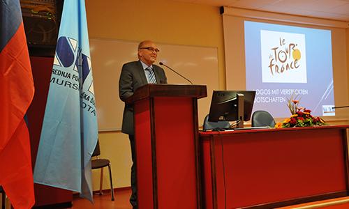 Nagovor nemškega veleposlanika Klausa Petra Riedla v Sloveniji