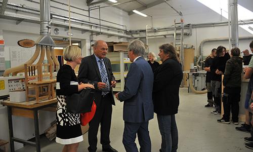 Predstavniki nemškega veleposlaništva obiskali delavnice SPTŠ