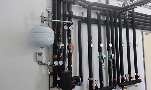 Ogrevanje s toplotno črpalko - cevni sistem