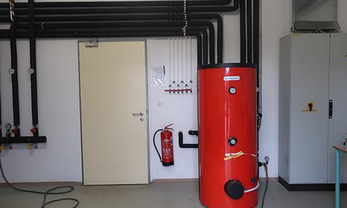 Ogrevanje vode s toplotno črpalko
