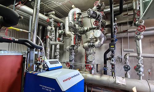 Sistem ogrevanja s kotlom na plin