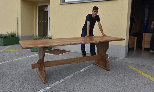 Zaključni izdelek - kmečka miza