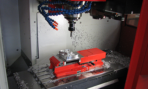 Izdelek, izdelan na CNC-frezalnem stroju