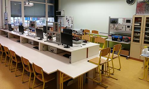 Učilnica za izvedbo laboratorijskih vaj in praktičnega pouka