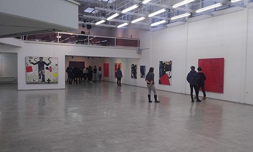 Ogled razstave v Galeriji Murska Sobota