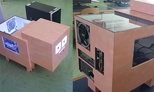 Računalniško ohišje izdelano malo drugače - Minecraft Muddy Pig