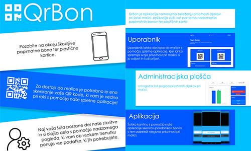 QR bon - mobilna in spletna aplikacija za beleženje malice